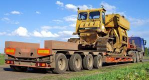 Перевозка дорожно-строительной техники