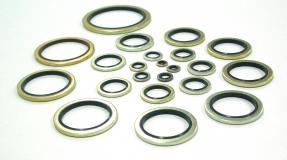 Кольца уплотнительные резино-металлические